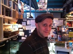 Black Beat Record Store Amsterdam von Innen
