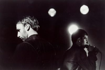 Joy Division Peter Hook und Ian Curtis