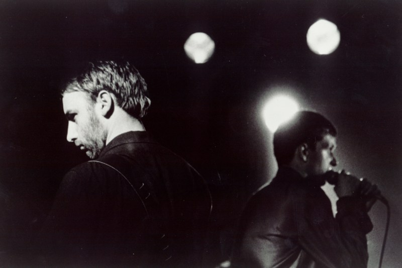 Joy Division Peter Hook und Ian Curtis