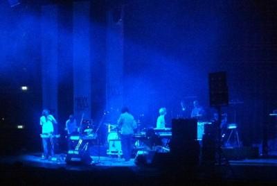 Notwist live in der Tonhalle düssledorf 3.Oktober 2012