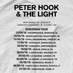 Peter Hook mit  Joy Division Celebration auf Tour